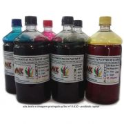 Tinta 500ml Plotter HP72 / HP727 exclusiva p/ Plotter  HPT610, T770, T790, T795, T920, T1100, T1120, T1200, T1300, T1500, T2300, T2500 - Market-Ink Plotter & InkJet