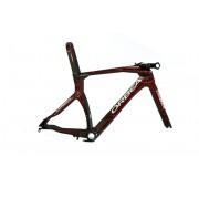 Quadro Triathlon Orbea ORDU tam S cor Carbono/Vermelho
