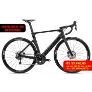 Bicicleta estrada Orbea Orca AERO M20 TEAM Tam 51 Preta - 2021