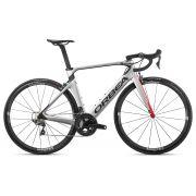 Bicicleta estrada Orbea Orca AERO M20 TEAM Tam 55 Prata/Verm - 2020