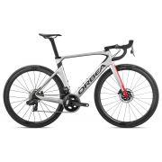 Bicicleta estrada Orbea Orca AERO M21e TEAM-D Tam 53 Prata/Verm - 2020