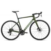 Bicicleta estrada Orbea Orca M21e Team, 53, Verde Militar/Metálico - 2021