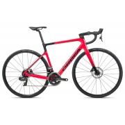 Bicicleta estrada Orbea Orca M21e Team, 57, Coral/Preta - 2021