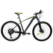 Bicicleta MTB Optimus TUCANA 29 V12 - Tam M - Preta/Verde 2021