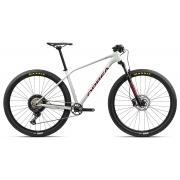 Bicicleta MTB Orbea Alma 29 H30 - Tam M - Branca/Vermelha 2021