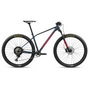 Bicicleta MTB Orbea Alma 29 H30 - Tam S - Azul/Vermelho 2021