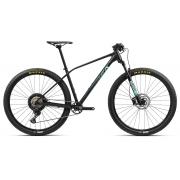 Bicicleta MTB Orbea Alma 29 H30 - Tam S - Preta/Verde 2021