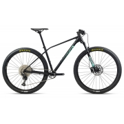 Bicicleta MTB Orbea Alma 29 H50 - Tam S - Preta/Verde 2021