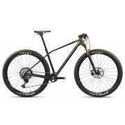 Bicicleta MTB Orbea Alma 29 M-PRO - Tam M - Carbono/Ouro 2021