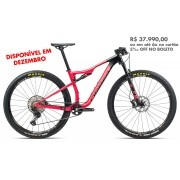 Bicicleta Orbea MTB OIZ M30 tam M  Coral/Preta - 2021