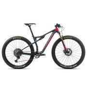 Bicicleta Orbea MTB OIZ M-TEAM 2020 tamanho M cor azul/vermelha