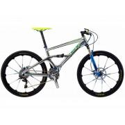 Bicicleta MTB GT ZASKAR CARBON 100 TEAM  tam.M cor CHROME