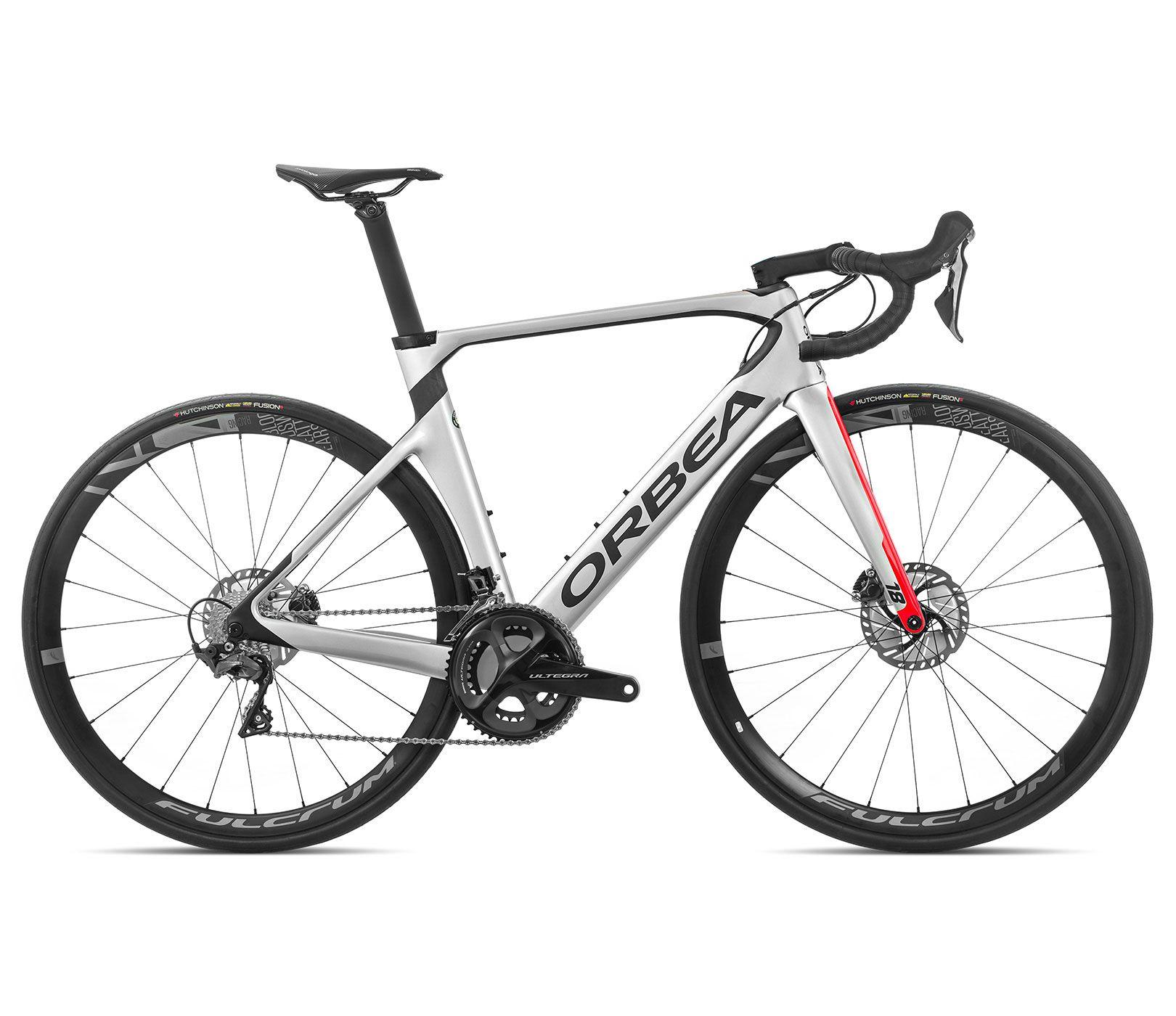 Bicicleta estrada Orbea Orca AERO M20 TEAM-D Tam 51 Prata/Verm - 2020