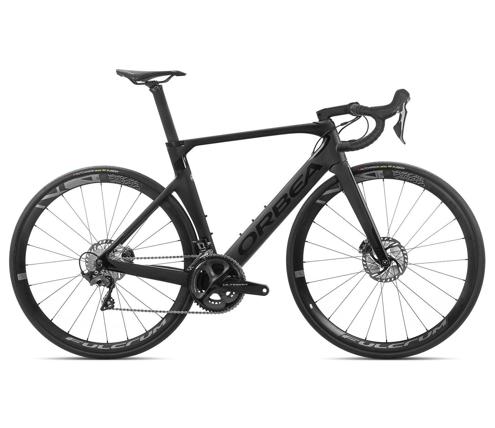 Bicicleta estrada Orbea Orca AERO M20 TEAM-D Tam 55 Preta - 2020