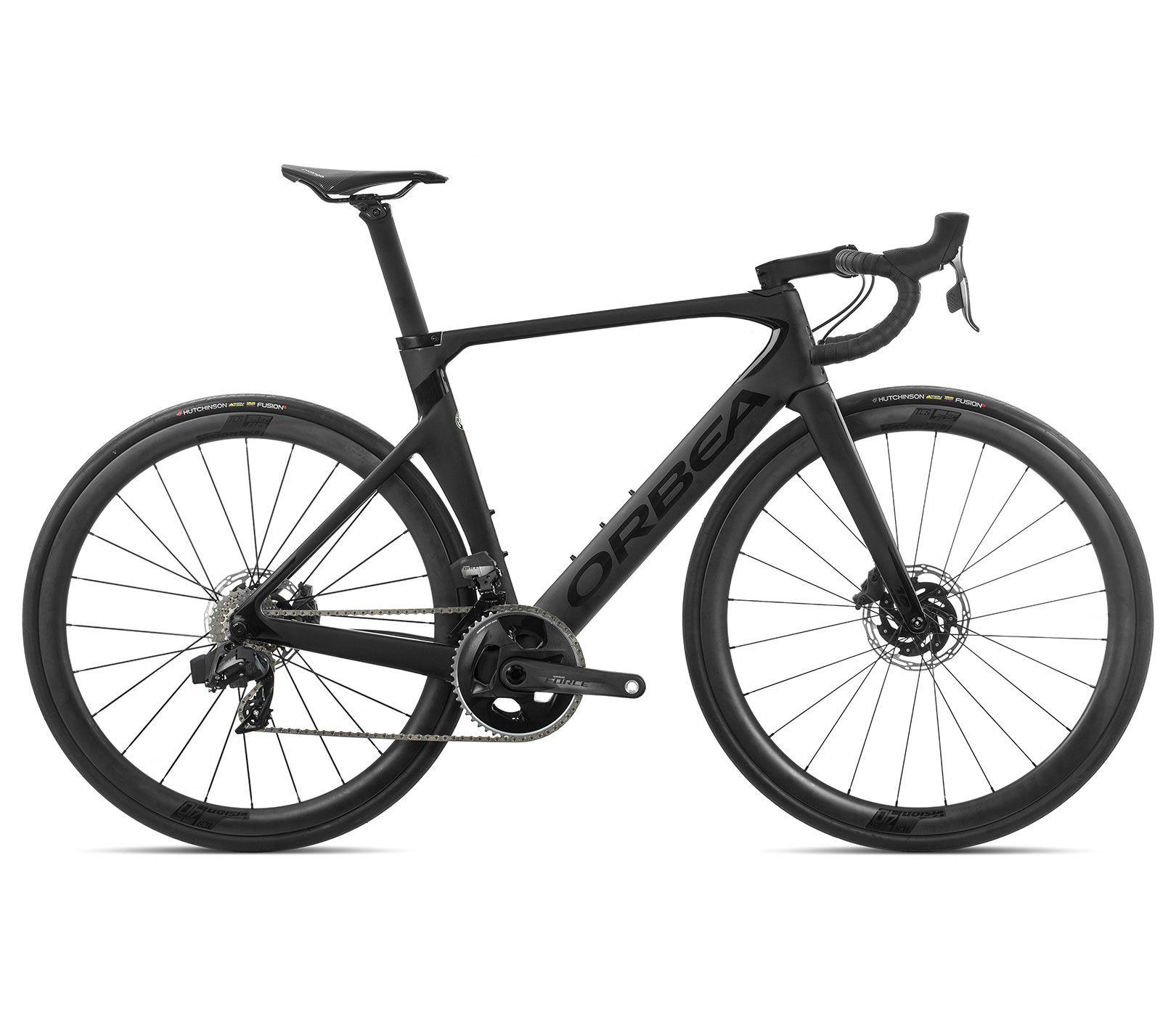 Bicicleta estrada Orbea Orca AERO M21e TEAM-D Tam 51 Preta - 2020