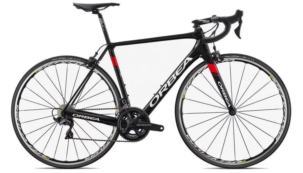 Bicicleta estrada Orbea Orca M20 Team, 55, Preto/Vermelho/branco - 2019