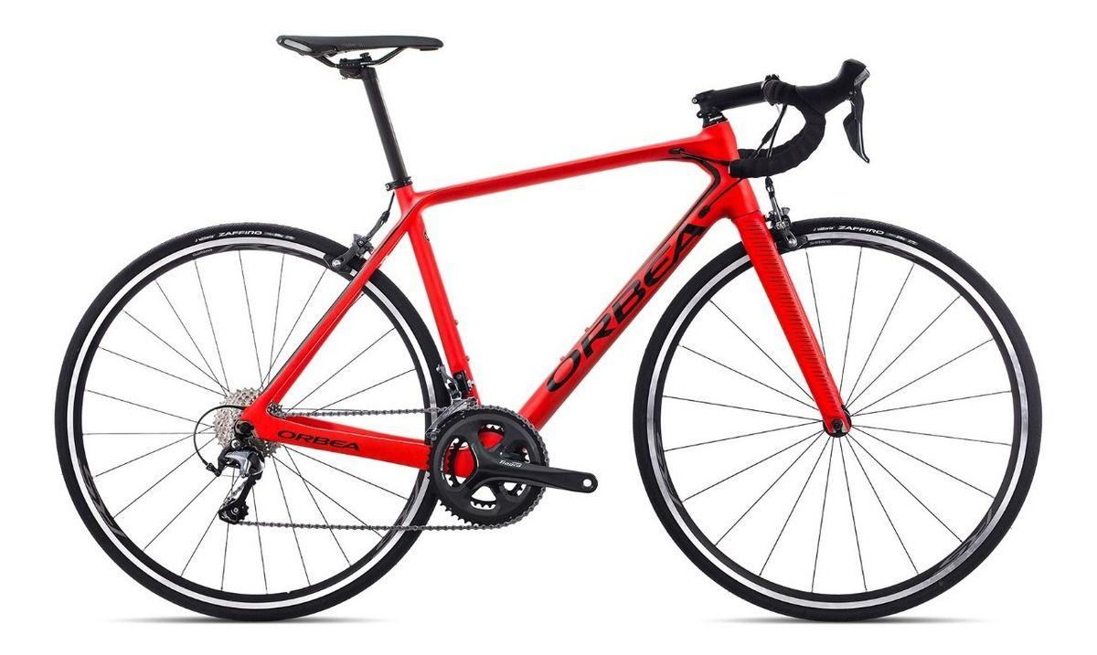 Bicicleta estrada Orbea Orca M40, Tam 53, Vermelha/Preta - 2019