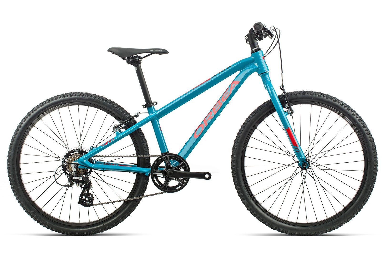 Bicicleta kids Orbea MX 24 DIRT - Azul/Vermelho 2020
