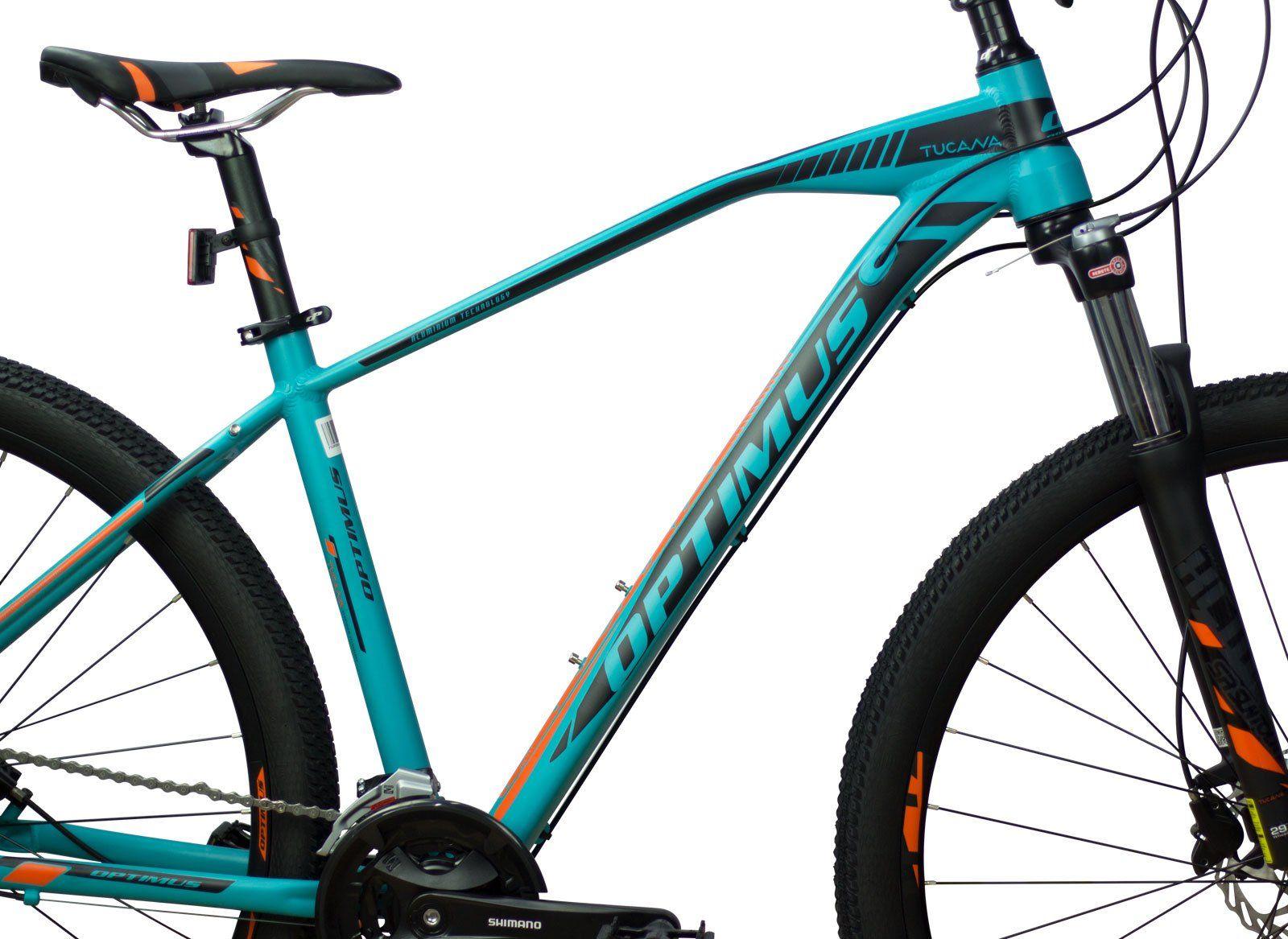 Bicicleta MTB Optimus TUCANA 29 V9 - Tam M - Verde/Preta 2021