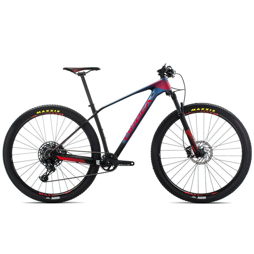 Bicicleta MTB Orbea Alma 29 M50 - Tam L - Azul/Vermelha 2019