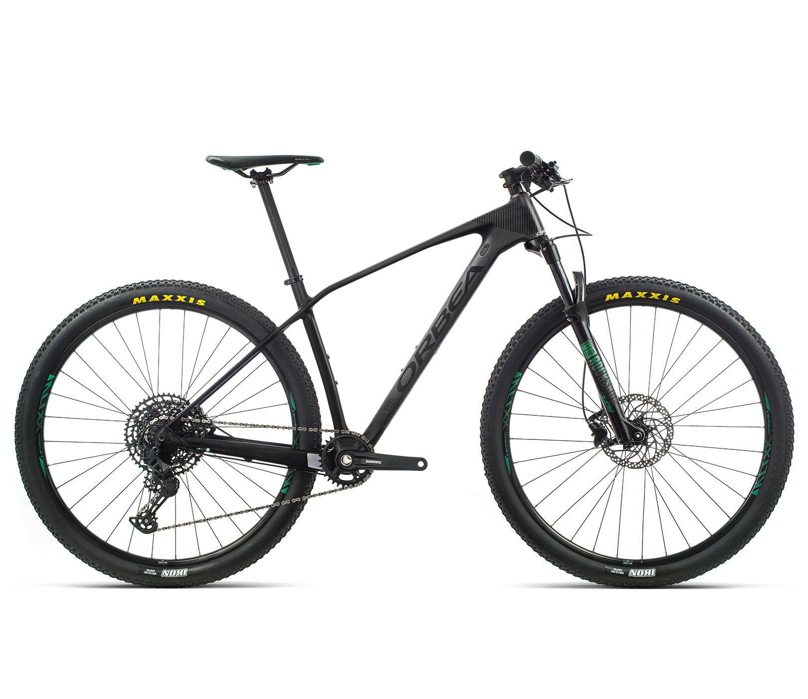 Bicicleta MTB Orbea Alma 29 M50 - Tam L - Preta 2020