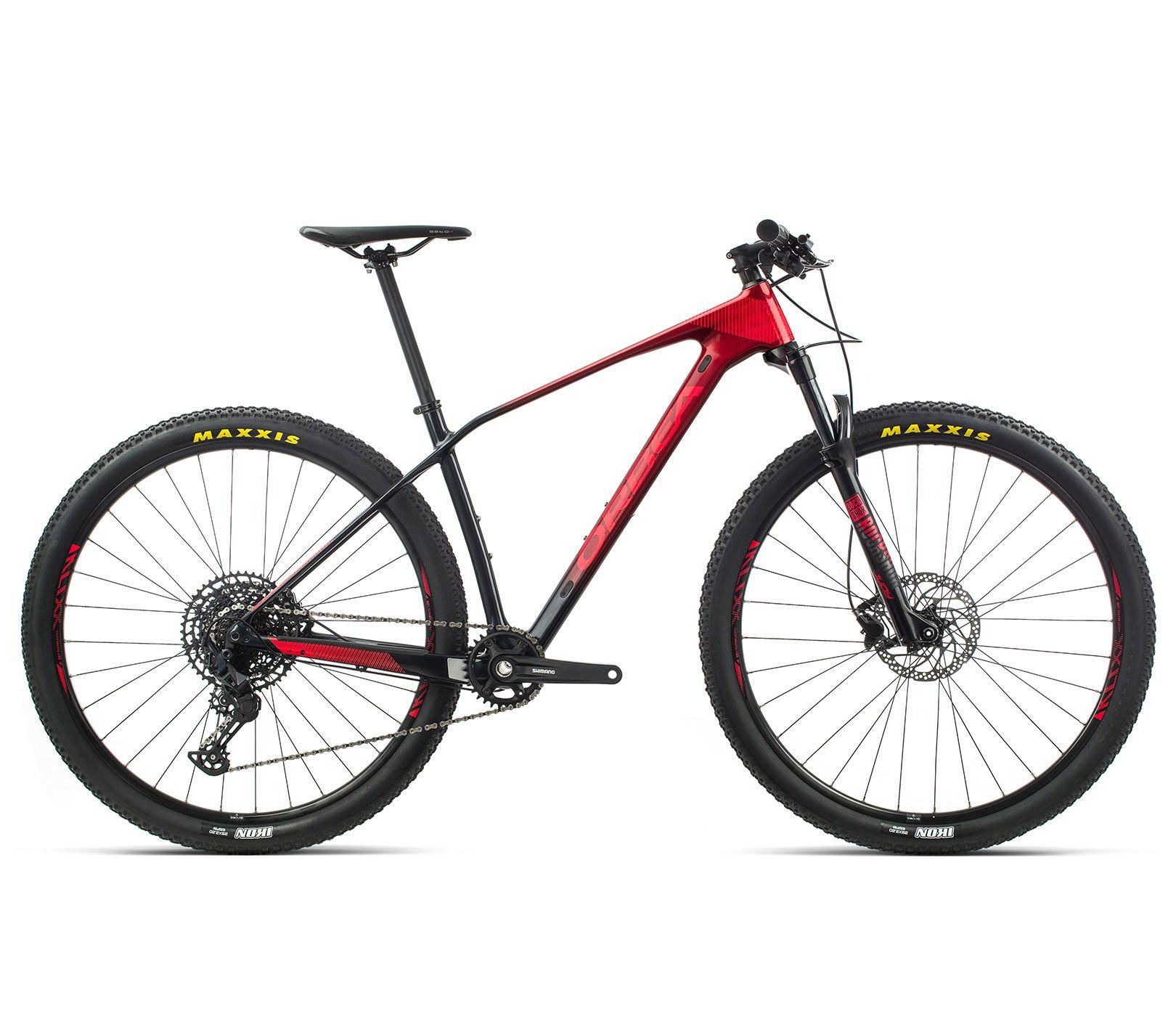 Bicicleta MTB Orbea Alma 29 M50 - Tam L - Verm/Preta 2020