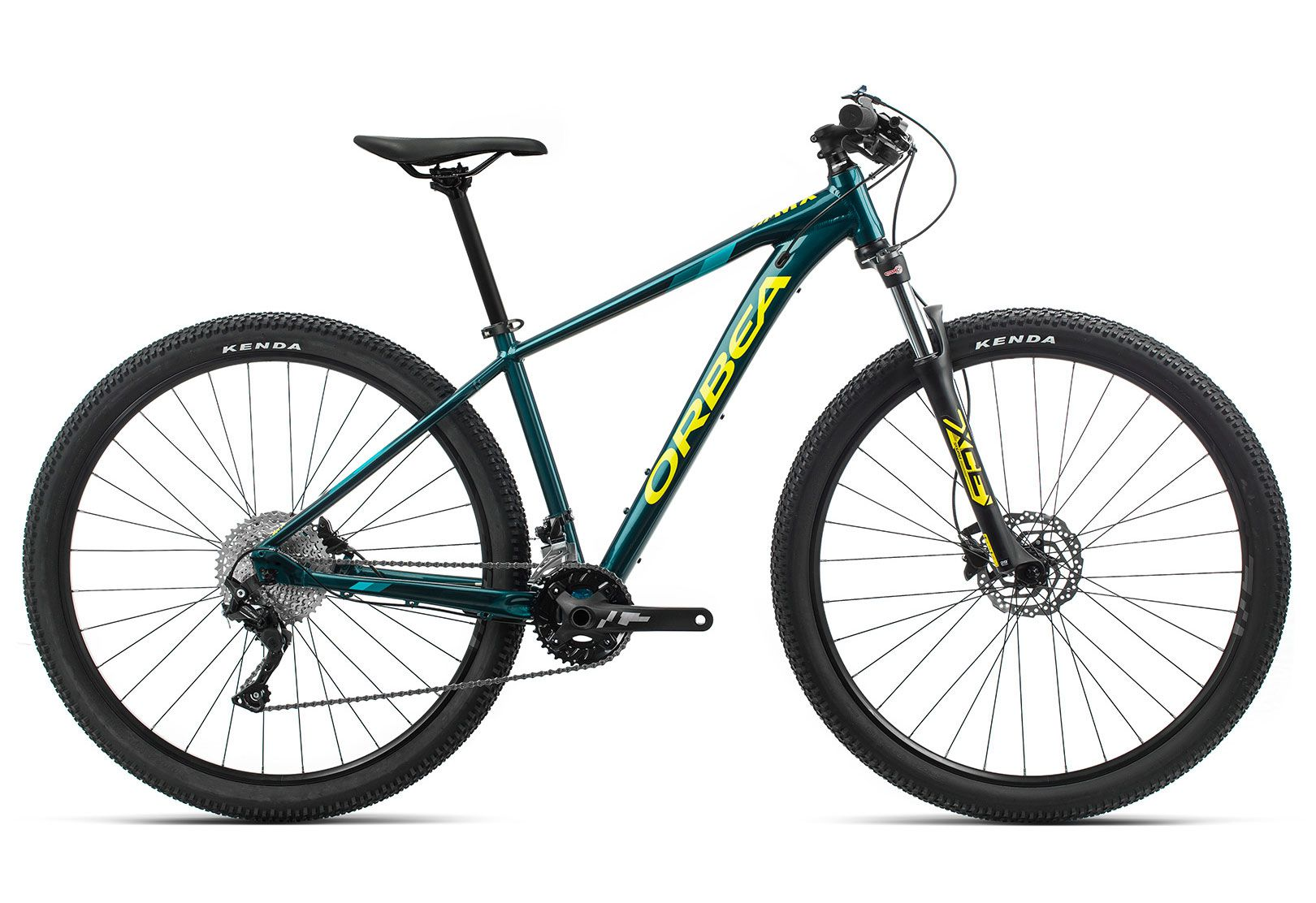 Bicicleta MTB Orbea MX 29 30 - Tam L - Oceano/Amarelo 2020
