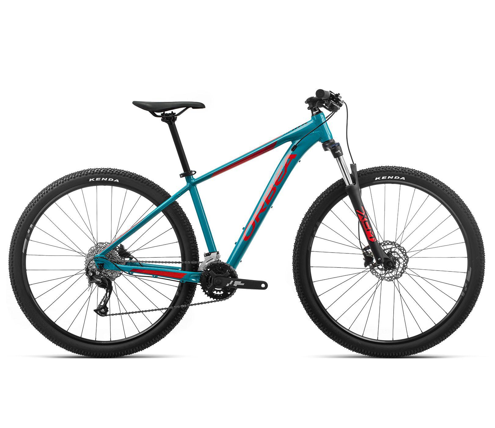 Bicicleta MTB Orbea MX 29 40 - Tam M - Azul/Vermelha 2020