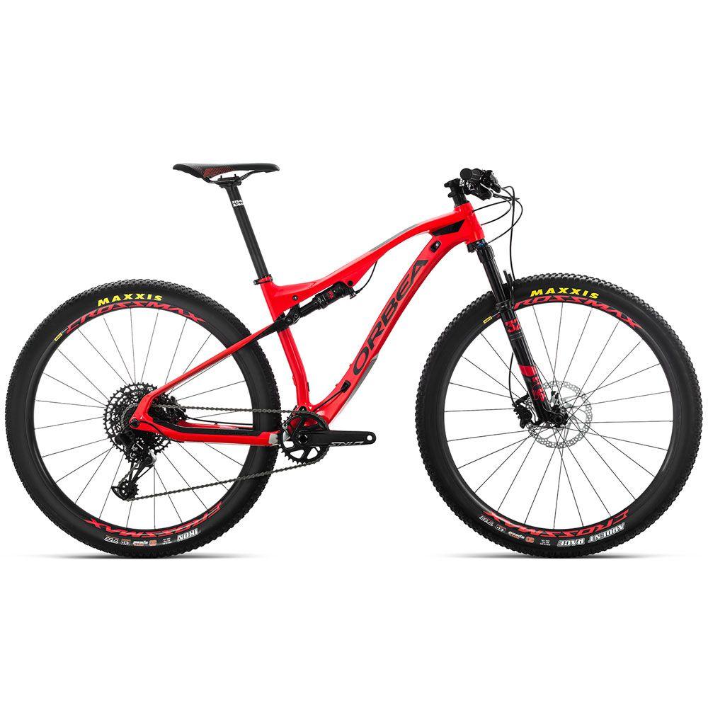Bicicleta MTB Orbea OIZ M50 Tam M Vermelha/Preta 2019