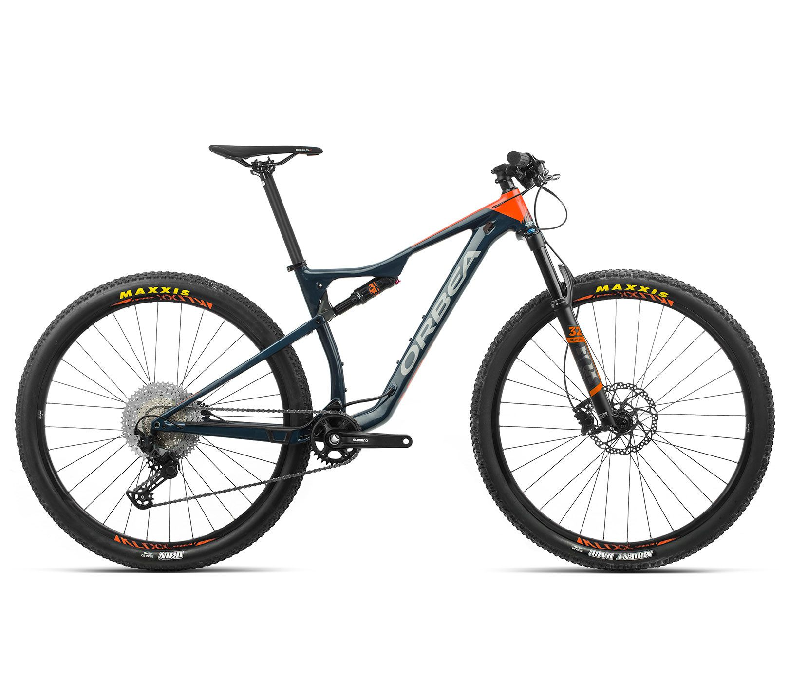 Bicicleta Orbea MTB OIZ H30 tam L  Azul/Laranja - 2020