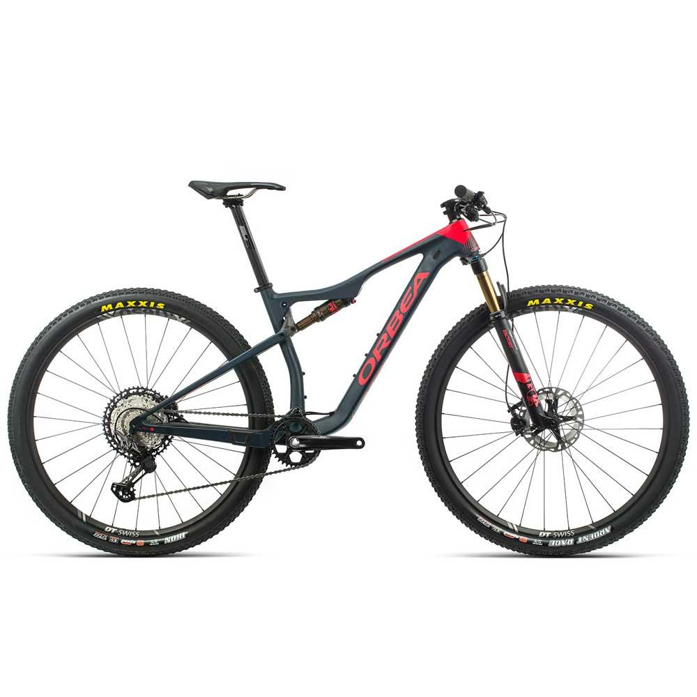 Bicicleta Orbea MTB OIZ M10 tam M  azul/vermelha - 2020