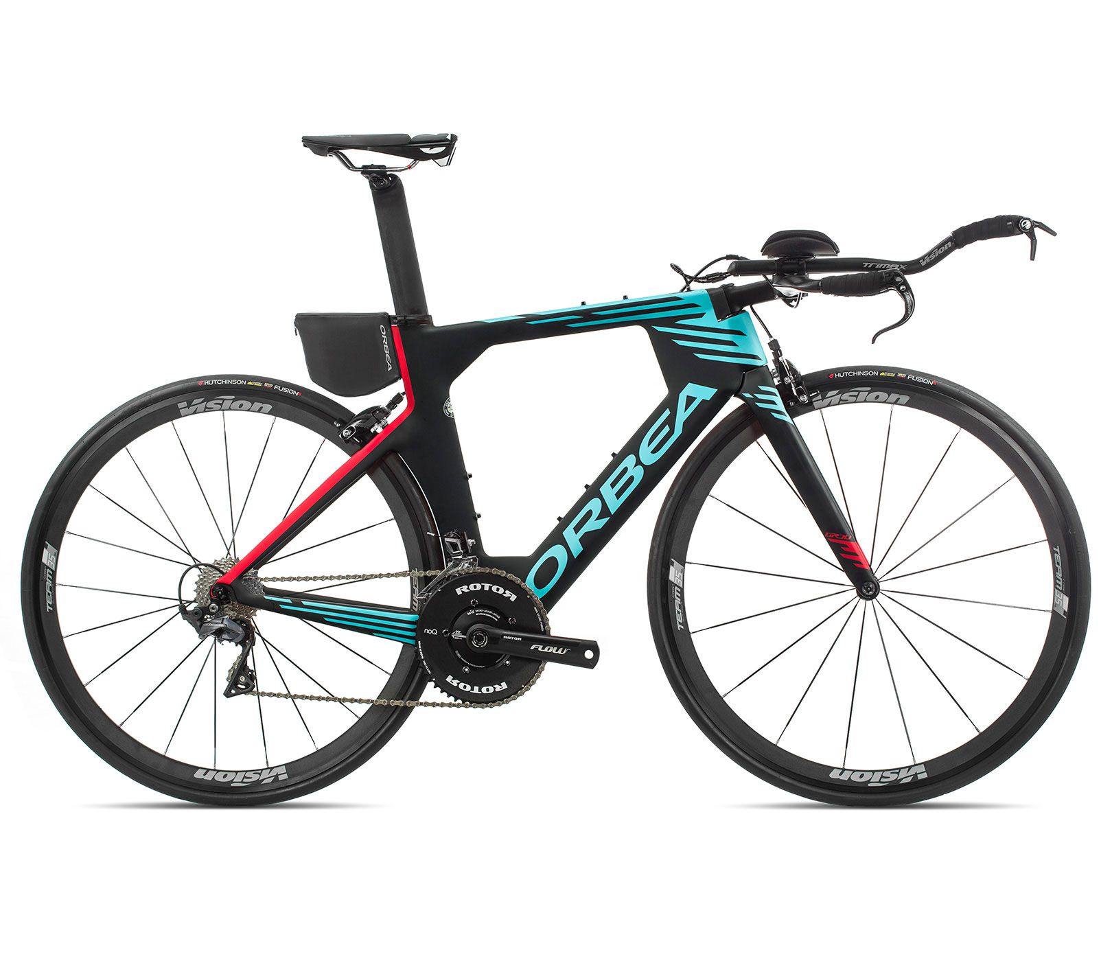 Bicicleta Triathlon Orbea ORDU M20TEAM Tam M Preta/Azul - 2020