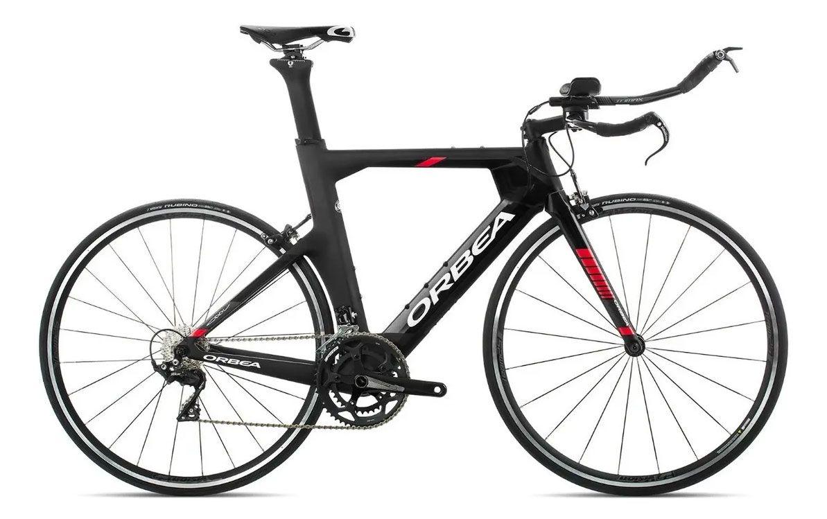 Bicicleta Triathlon Orbea ORDU M30 Tam S Preta/Verm - 2019