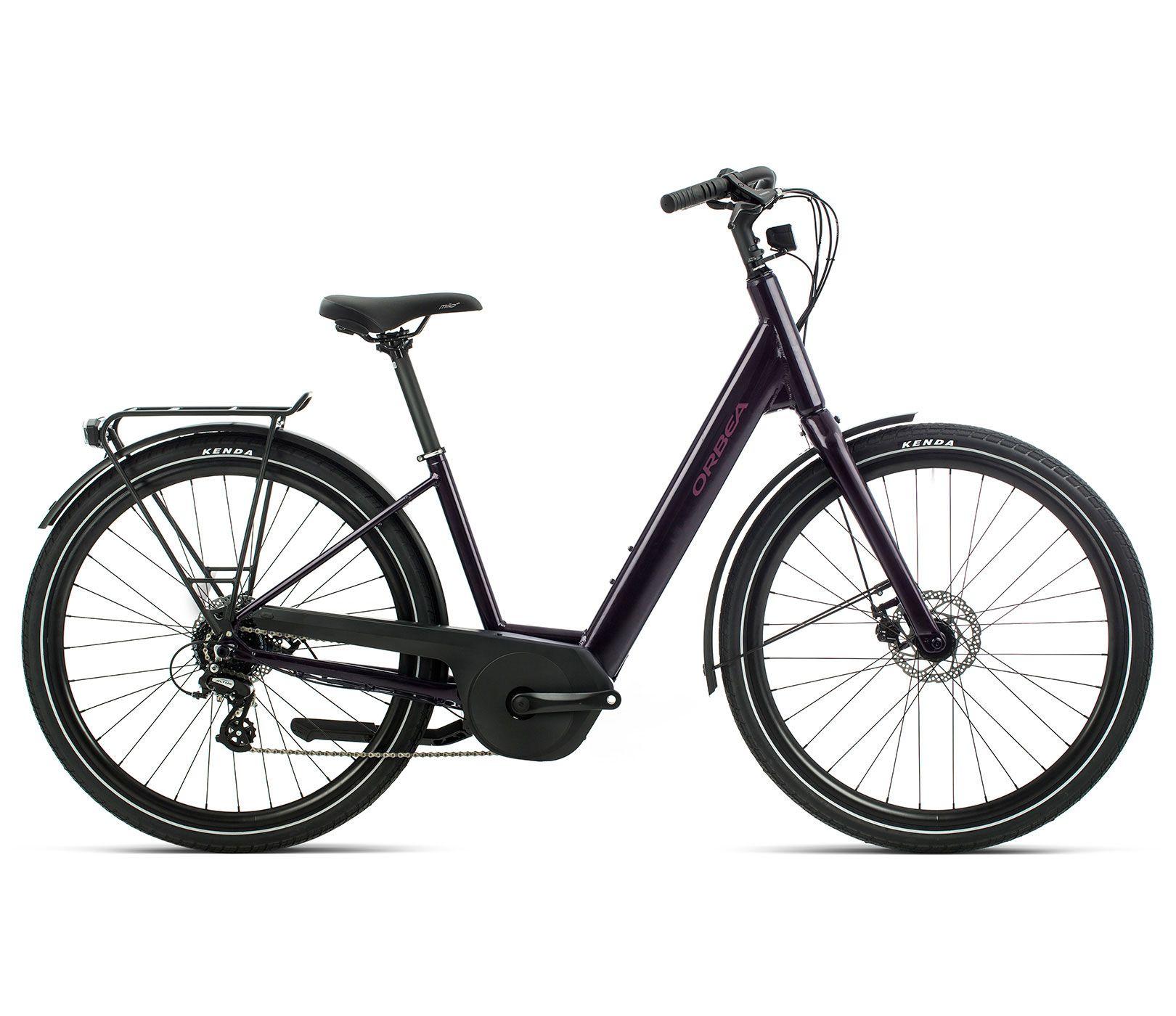Bicicleta URBANA E-BIKE Orbea Optima E50, Tam M, Violeta - 2020