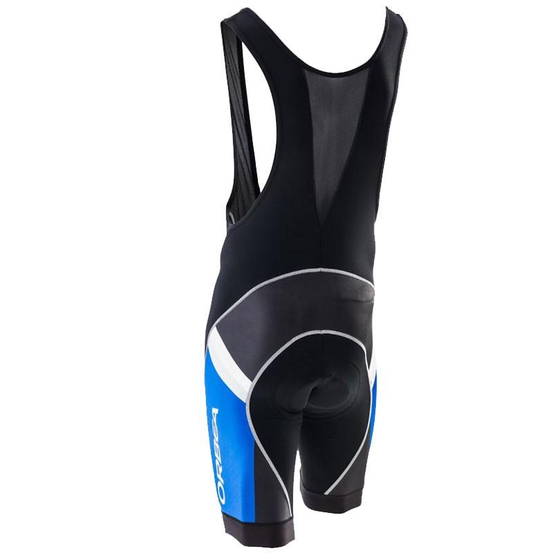 Bretelle BIB S CLUB short ciclismo ORBEA - Cor Preto/Azul