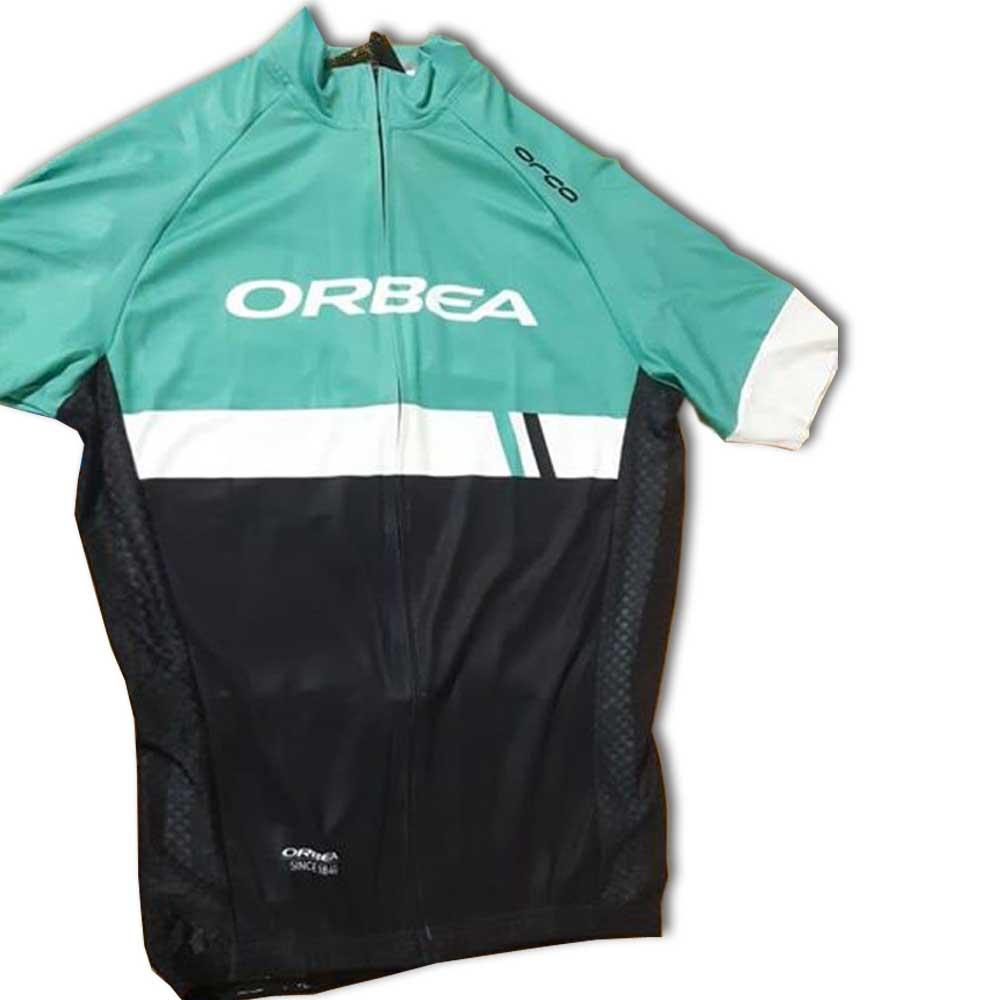 Camisa Jersey de ciclismo ORBEA TEAM BRASIL - GG - Verde/Preta
