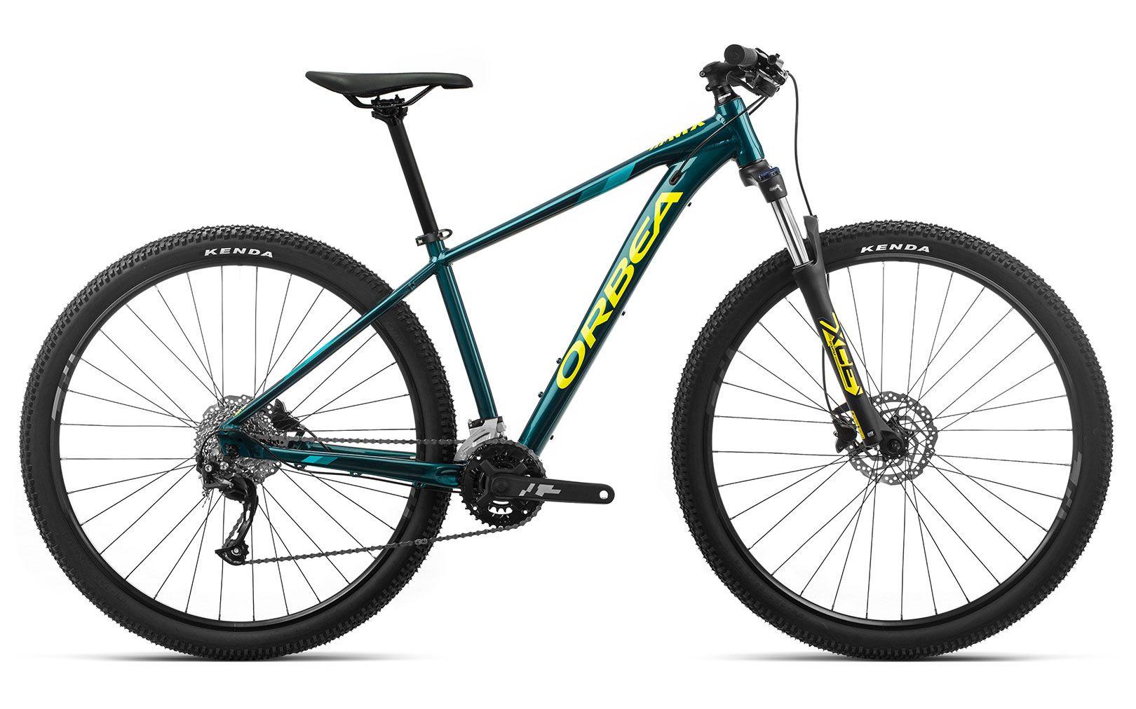 Bicicleta MTB Orbea MX 29 40 - Tam L - Oceano/Amarelo 2020