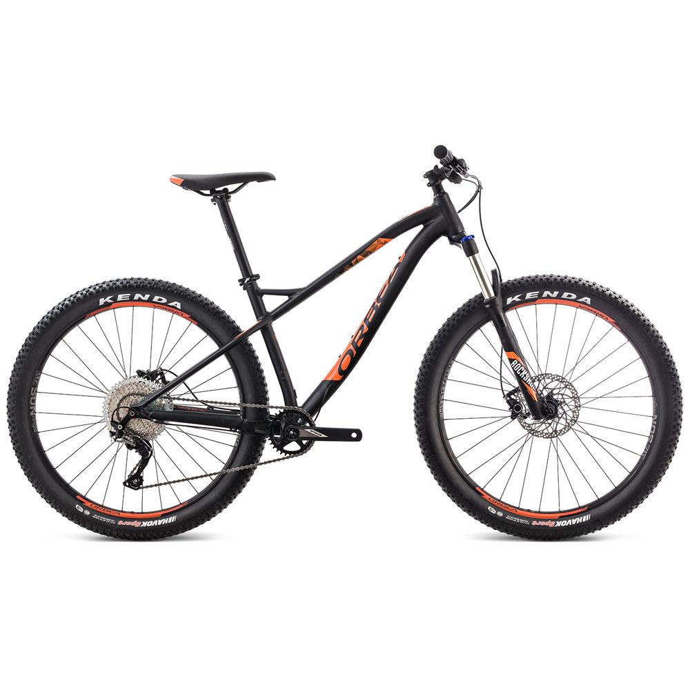 Bicicleta MTB Orbea Loki H30 27+ Tam M - Preta/Laranja