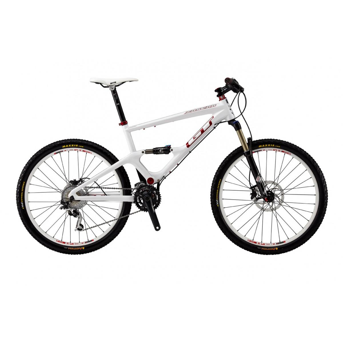 Bicicleta MTB GT ZASKAR CARBON 100 EXP  tam.L cor WHT