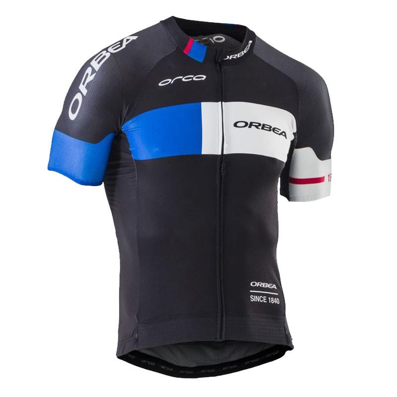 Camisa Jersey de ciclismo SS PRO ORBEA - G - Preta/Azul