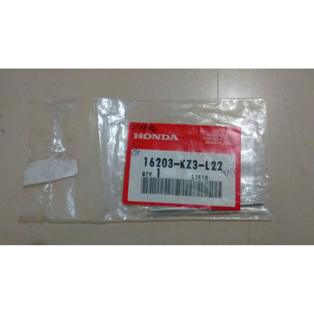 Agulha Pistonete TMX 16203-KZ3-L22 (6BEY30-73), CR250 2002  - T & T Soluções