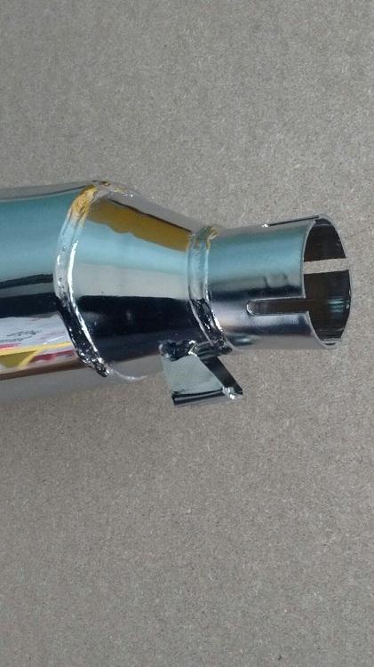 Ponteira escapamento CB300R  - T & T Soluções
