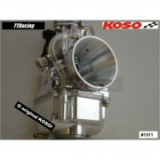 Carburador KOSO 28mm com Power Jet