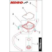 Kit parafuso fixação da cuba c/02 peças