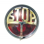 Lanterna Sinaleira Stop Café Racer Old School Bobber Harley Davidson Custom