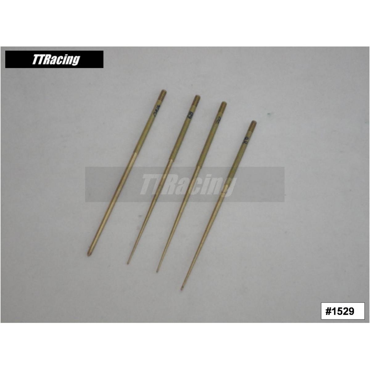 Jogo de agulha do pistonete CR FLAT FCR-MX c/4pç  - T & T Soluções