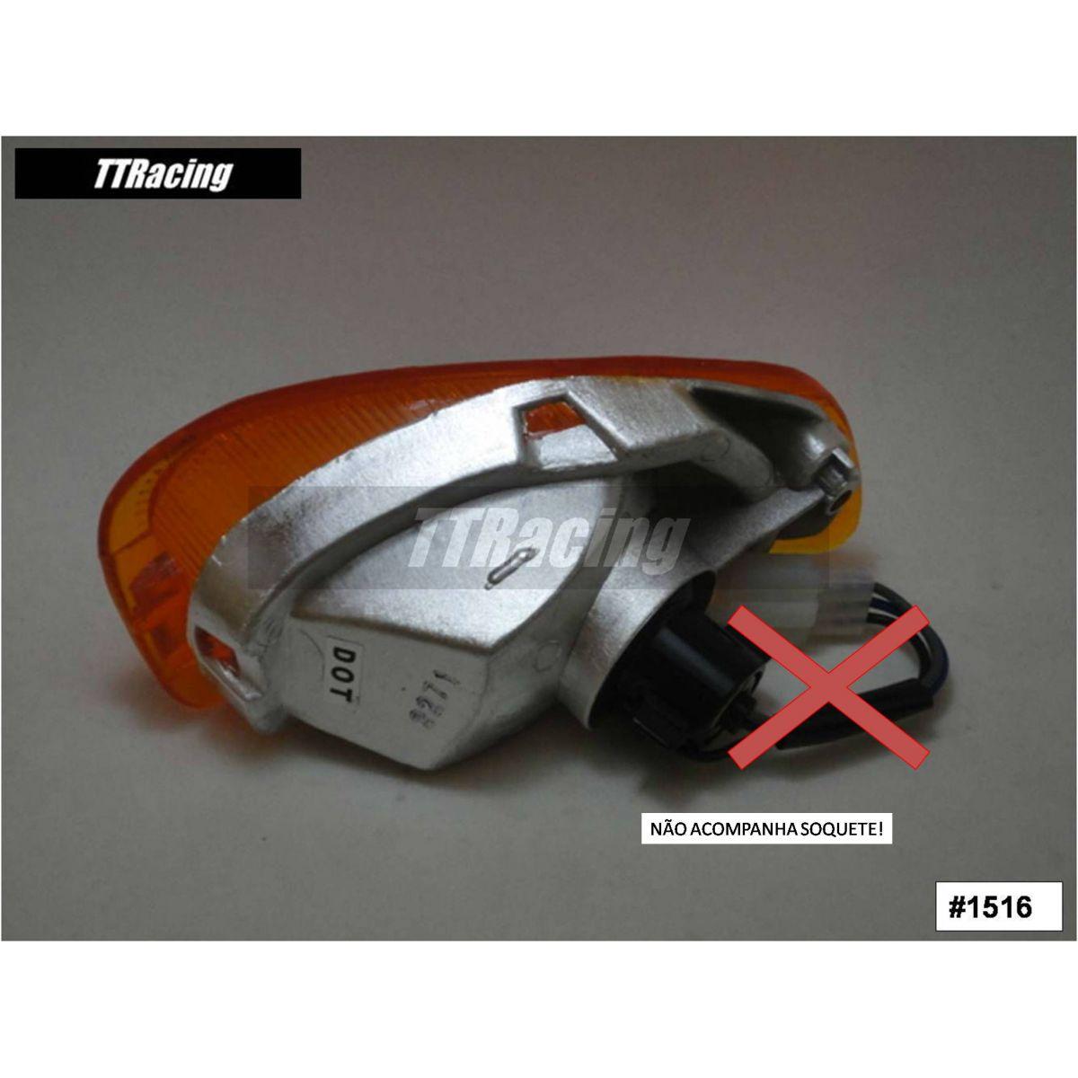Pisca dianteiro direito Kawasaki ZX11  - T & T Soluções
