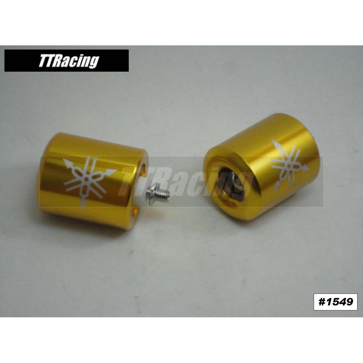 Peso de guidão Yamaha R1 Dourado  - T & T Soluções