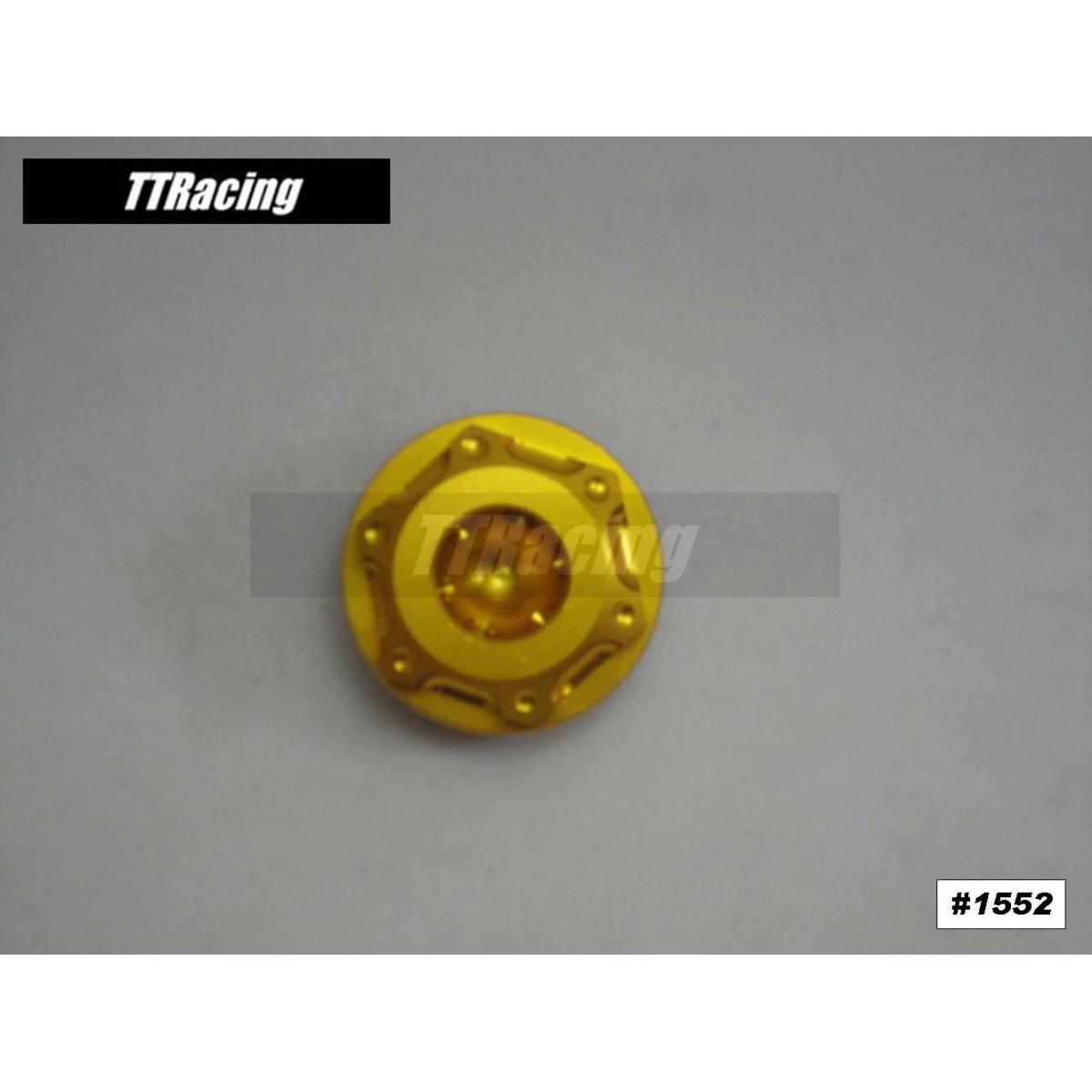 Tampa do óleo Yamaha XJ6 MT-01 R1 Dourado  - T & T Soluções