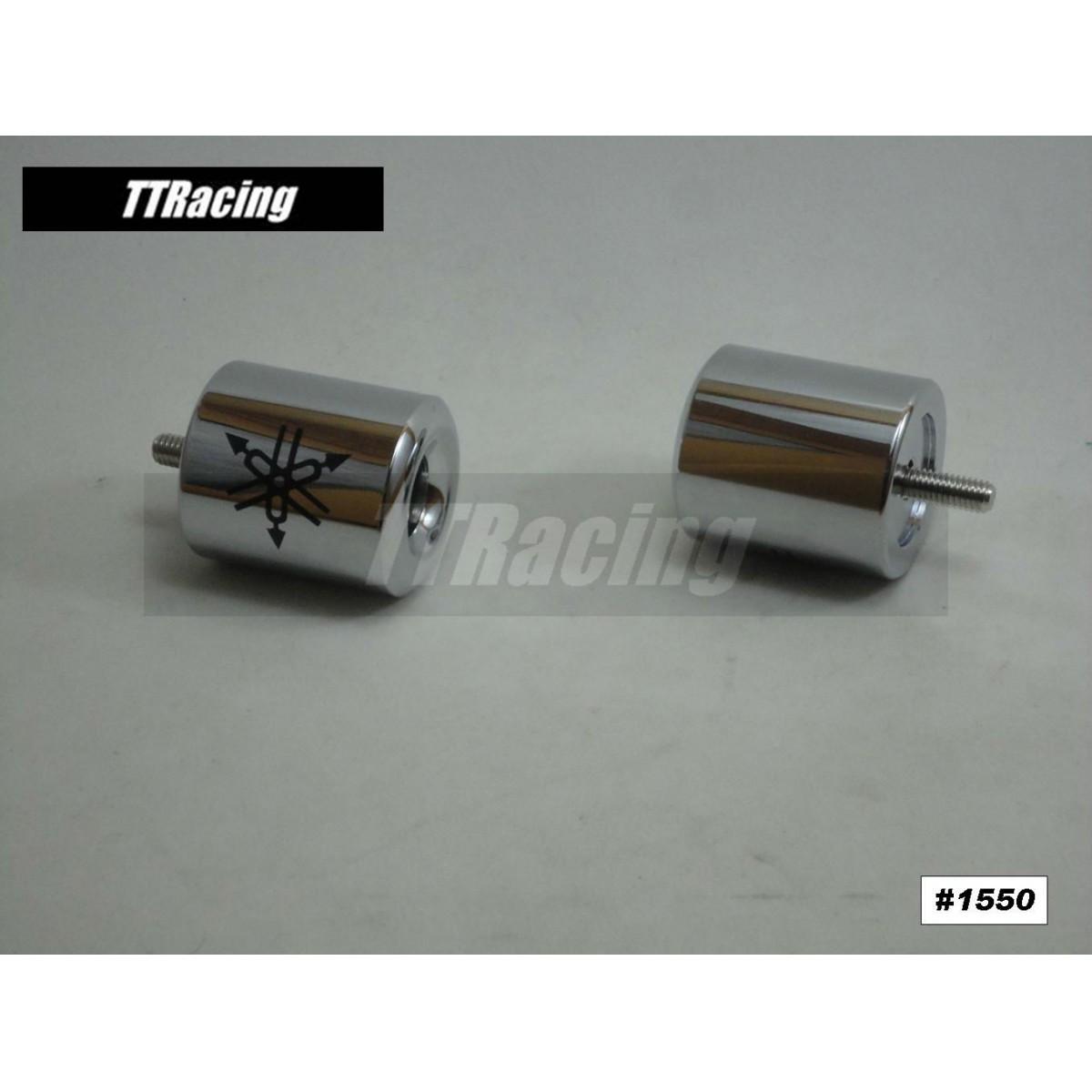 Peso de Guidão Yamaha R1 Cromado  - T & T Soluções